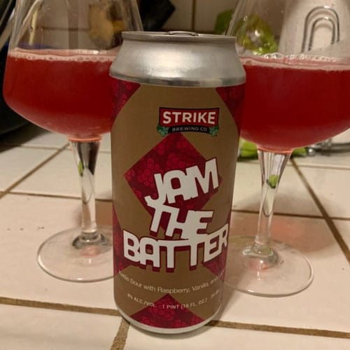 Jam the Batter (Raspberry) by Strike Brewing