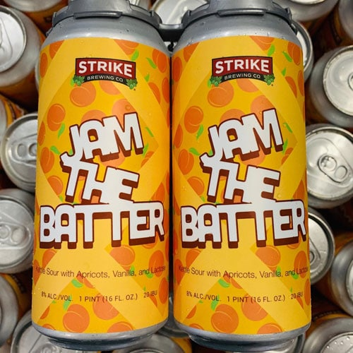 Jam the Batter (Apricot) by Strike Brewing
