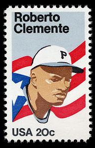 Roberto Clemente, 1984 U.S. Postage Stamp – 20¢