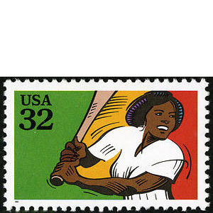 Softball, Recreational Sports, U.S. Postage Stamp – 32¢
