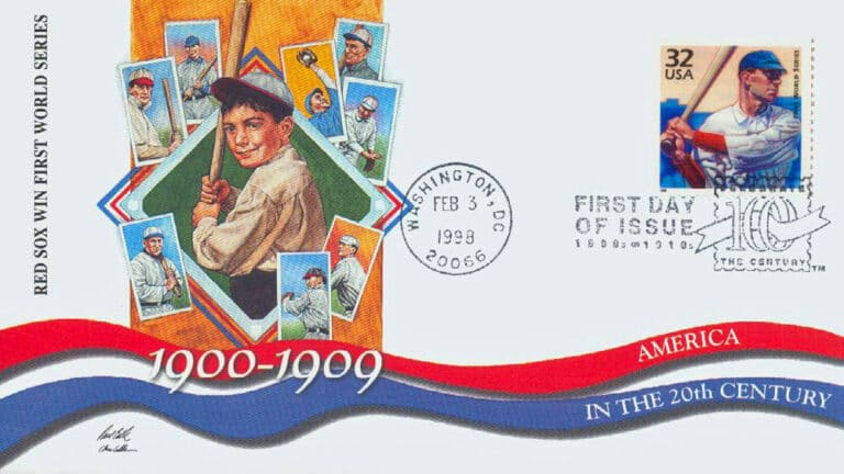First World Series, Celebrate the Century U.S. Postage Stamp FDC