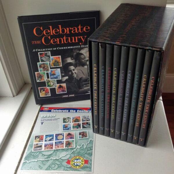 Celebrate the Century U.S. Postage Stamps Books