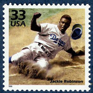 Jackie Robinson, Celebrate the Century U.S. Postage Stamp – 33¢