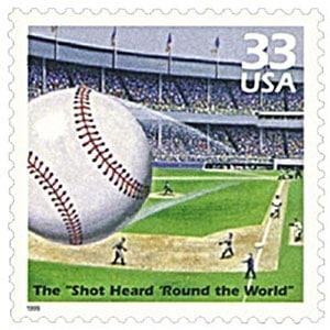 The Shot Heard Round the World, Celebrate the Century U.S. Postage Stamp – 33¢