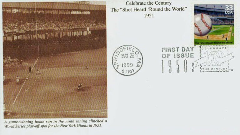 The Shot Heard Round the World, Celebrate the Century U.S. Postage Stamp FDC