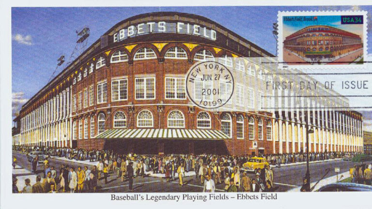 Ebbets Field, Legendary Playing Fields, U.S. Postage Stamp FDC
