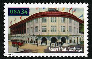 Forbes Field, Legendary Playing Fields, U.S. Postage Stamp – 34¢