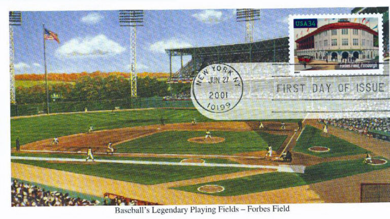 Forbes Field, Legendary Playing Fields, U.S. Postage Stamp FDC