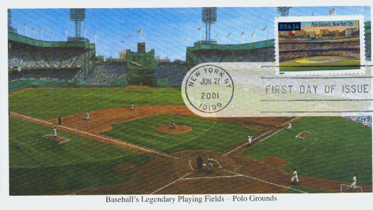 Polo Grounds, Legendary Playing Fields, U.S. Postage Stamp FDC
