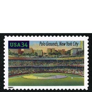 Polo Grounds, Legendary Playing Fields, U.S. Postage Stamp – 34¢