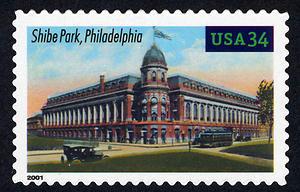 Shibe Field, Legendary Playing Fields, U.S. Postage Stamp – 34¢