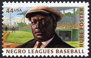 """Negro Leagues Baseball, U.S. Postage Stamp, Andrew """"Rube"""" Foster – 44¢"""