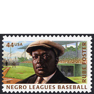 "Negro Leagues Baseball, U.S. Postage Stamp, Andrew ""Rube"" Foster – 44¢"