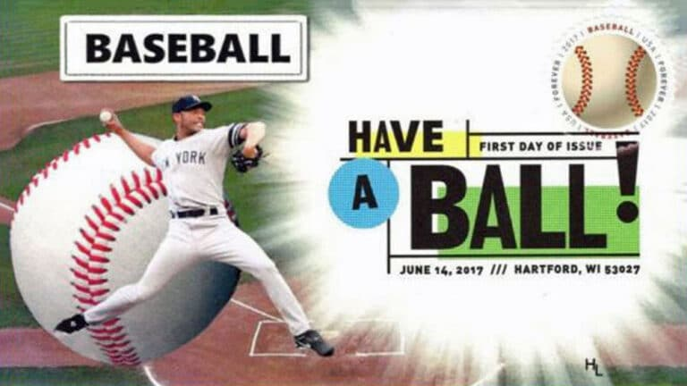 Have a Ball, U.S. Postage Stamp FDC
