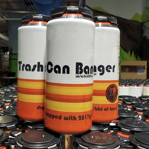 Trash Can Banger IPA by Departed Soles Brewing