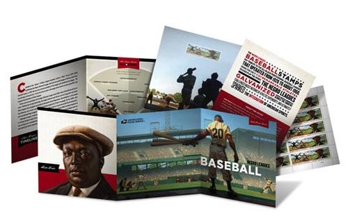 USPS Negro Leagues Baseball Folio
