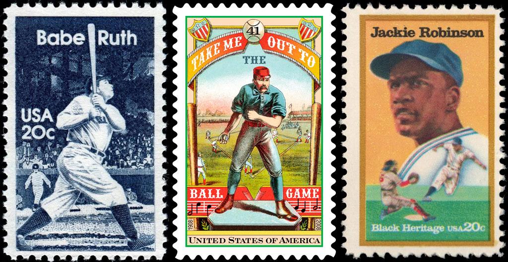 Baseball U.S. Postage Stamps