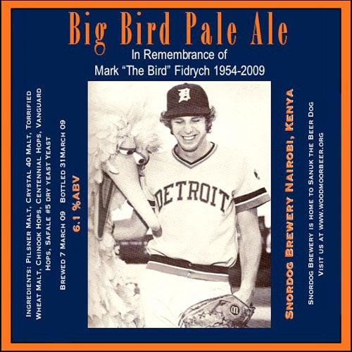 Big Bird Pale Ale by Snordog Brewery
