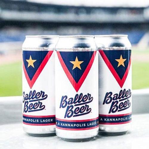 Cabarrus Brewing, Baller Beer at the Ballpark