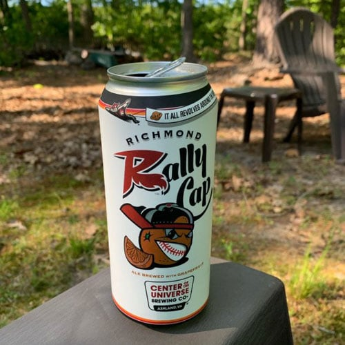 Center of the Universe - Richmond Rally Cap Beer