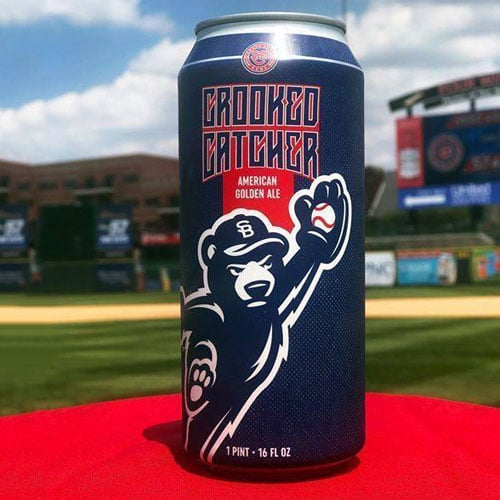 Crooked Catcher American Golden Ale on the Red Carpet