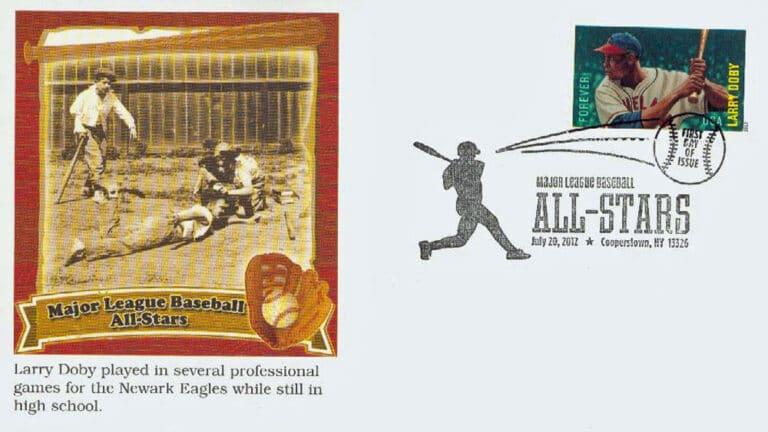 Larry Doby, U.S. Postage Stamp FDC
