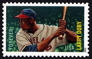 Larry Doby, U.S. Postage Stamp – Forever