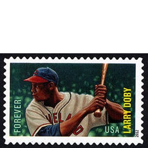 Larry Doby, U.S. Postage Stamp – Forever