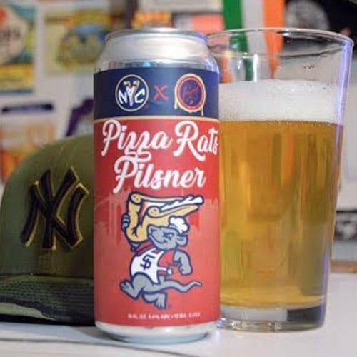 Flagship Brewing, Pizza Rats Pilsner