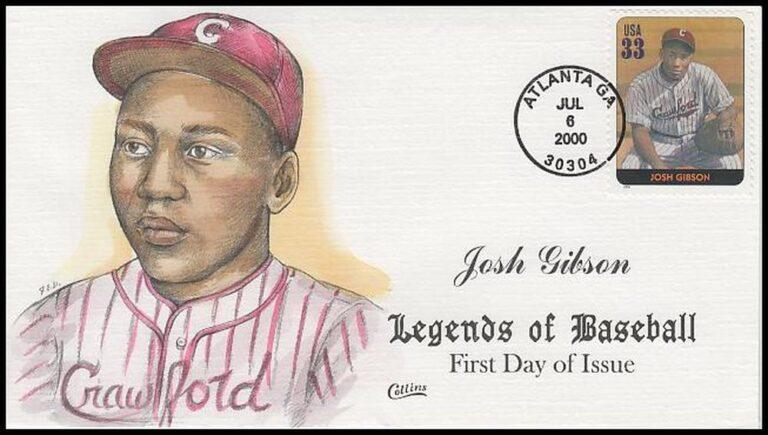 Josh Gibson, Legends of Baseball FDC