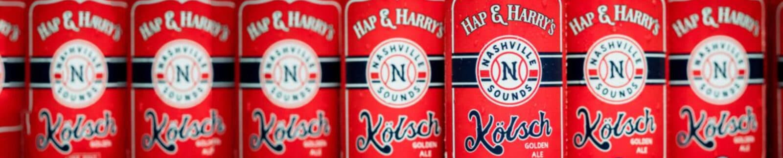 Hap & Harry's Nashville Sounds Kolsch header