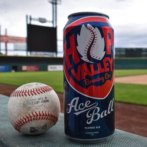 Hop Valley Brewing, AceBall Blonde Ale