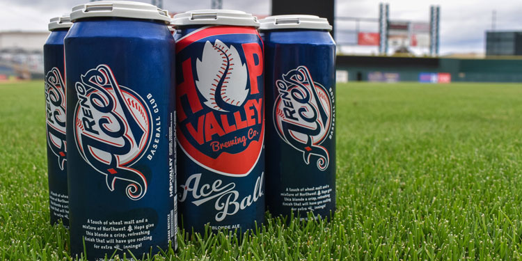 Hop Valley Brewing, AceBall Blonde Ale at the Ballpark