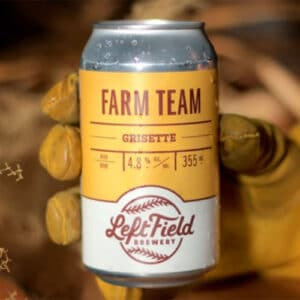 Farm Team Grisette by Left Field Brewing