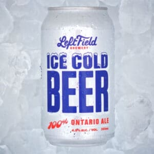 Ice Cold Beer by Left Field Brewery