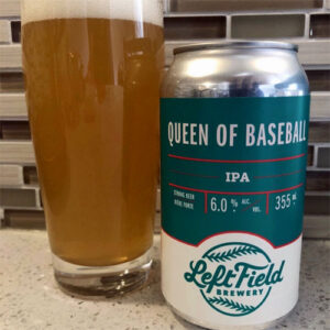 Queen of Baseball IPA by Left Field Brewery