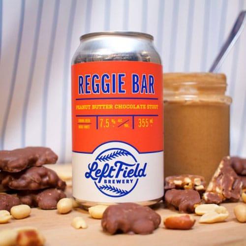 Reggie Bar Stout by Left Field Brewery