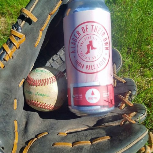 Lone Pine Brewing, A Lager of Their Own in a Baseball Glove