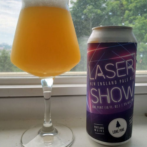 Lone Pine Brewing, Laser Show Pale Ale