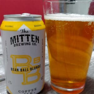 Bean Ball Blonde by The Mitten Brewing Co.