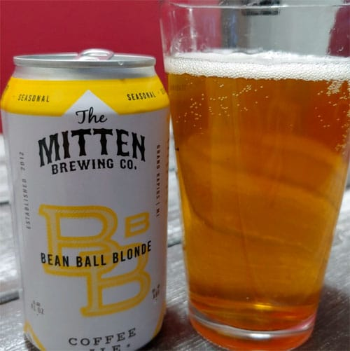Bean Ball Blonde by The Mitten Brewing Co.
