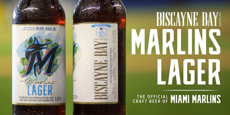 Marlins Lager: The Official Craft Beer of the Miami Marlins