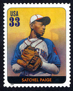 Satchel Paige, Legends of Baseball U.S. Postage Stamp – 33¢