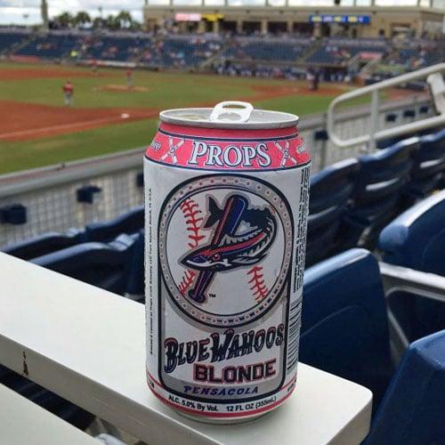 Props Craft Brewery, Blue Wahoos Blonde Ale