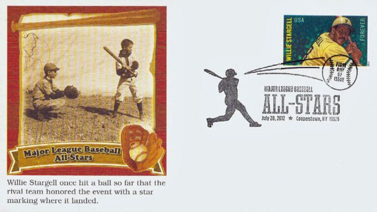 Willie Stargell, U.S. Postage Stamp FDC