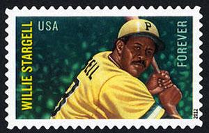 Willie Stargell, U.S. Postage Stamp – Forever