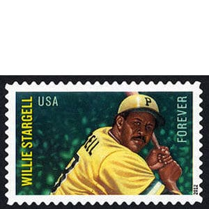 Willie Stargell, U.S. Postage Stamp – Forever