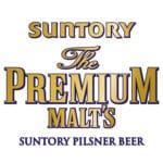 Suntory, The Premium Malts, logo