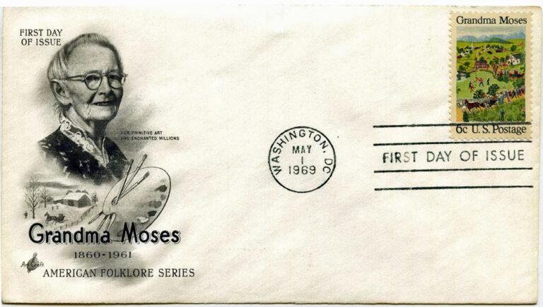 1969 Granda Moses FDC