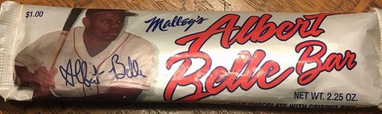 Albert Belle Bar – Chocolate Candy Bar by Malley's